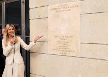 La inauguración de la embajada de EU en Israel
