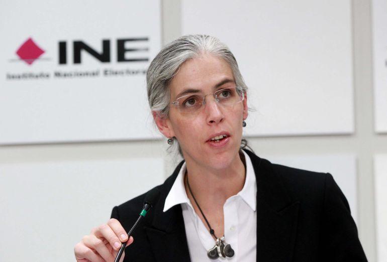 Pamela San Martín consejera del INE habla sobre la renuncia de Margarita Zavala