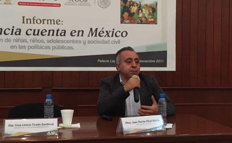 Juan Martín Pérez Director de la Red por los Derechos de la Infancia en México