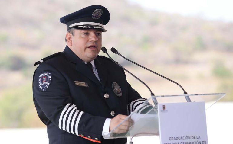 Alberto Capella comisionado estatal de seguridad pública de Morelos