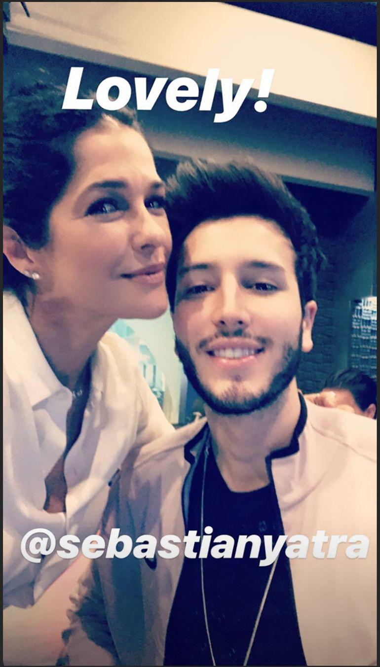 Sebastián Yatra en Martha Debayle
