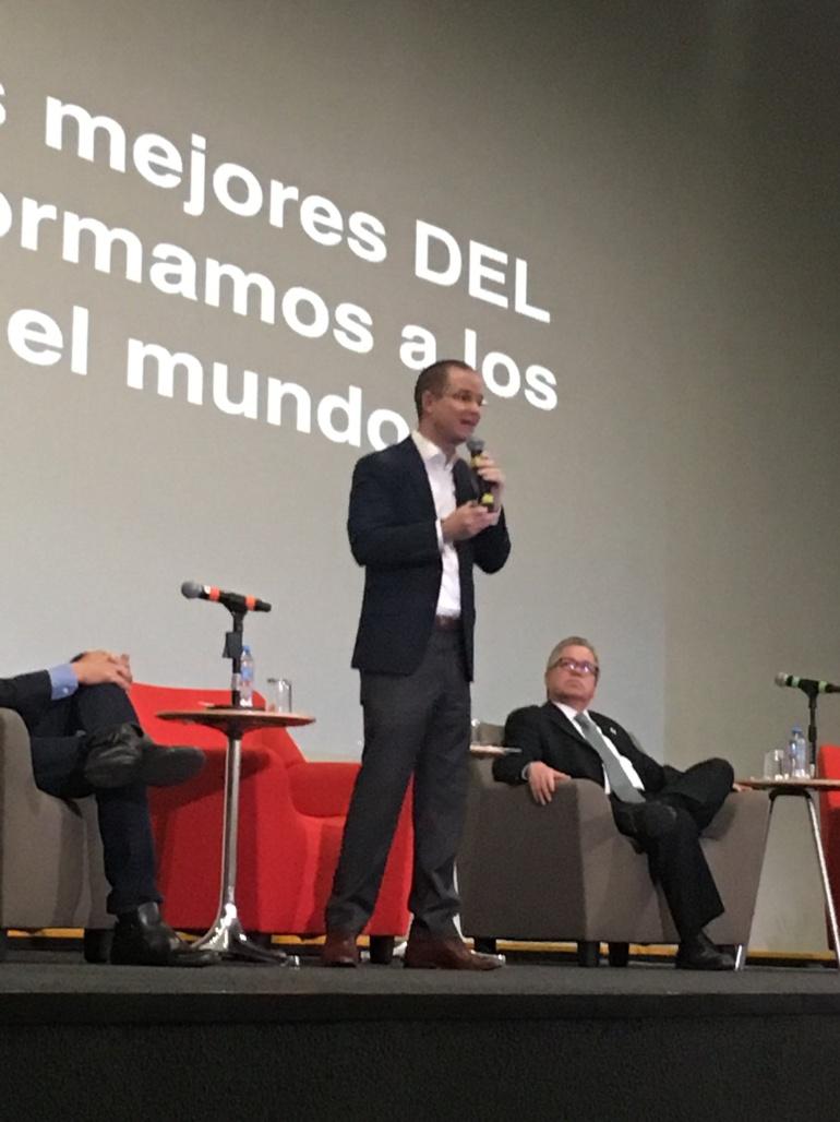 """""""Visita de Anaya en la Ibero fue triunfal"""": Jorge Castañeda"""