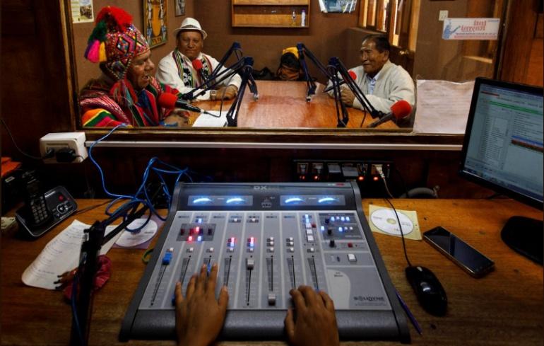 Narración en Quechua durante Rusia 2018: Sorprende narración en Quechua durante el mundial de Rusia