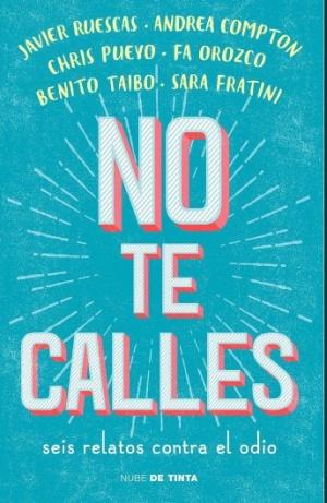 "Benito Taibo presenta libro No te calles: ""No te calles"", 6 relatos contra el odio en el libro de Benito Taibo"
