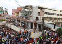 Frenan demolición del Colegio Rébsamen