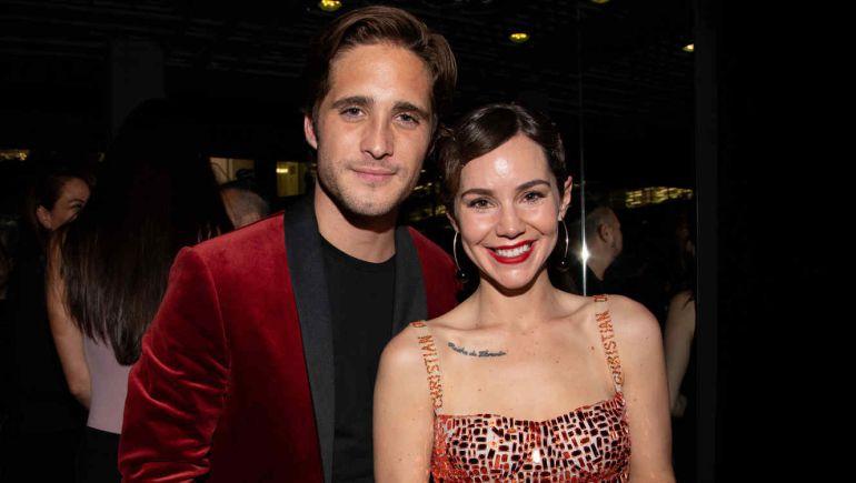 Camila Sodi y Diego Boneta en Luis Miguel La Serie: ¿Romance entre Camila Sodi y Diego Boneta?