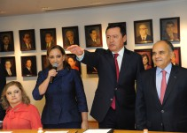 """""""Vamos a ser la tercera fuerza en el Senado"""": Osorio Chong"""