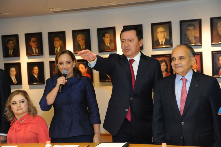 """Osorio Chong, Senado: """"Vamos a ser la tercera fuerza en el Senado"""": Osorio Chong"""