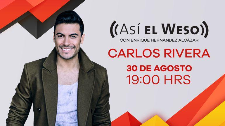 Carlos Rivera en Así El Weso