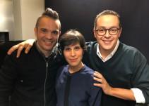 Kuno Becker y Ximena Ayala presentan 'El Día de la Unión' en 'Así el Weso'
