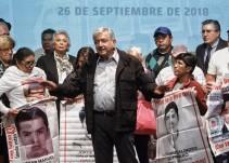 Padres de Ayotzinapa se fueron con esperanza tras reunión con AMLO: Olga Sánchez Cordero