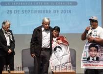 Padres de Ayotzinapa valoraron mucho el trato de AMLO