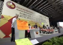 Quiero regresar a Guerrero a hablar con los maestros: Esteban Moctezuma