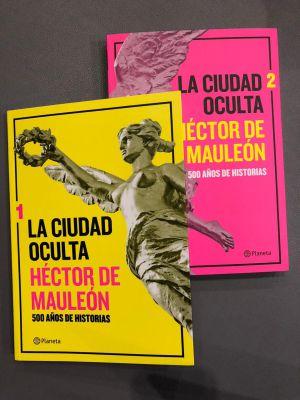 """Héctor de Mauleón presenta """"La ciudad oculta"""" en la cabina de Así el Weso"""