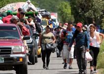 Activista: Que se aplique el retorno asistido a caravana migrante