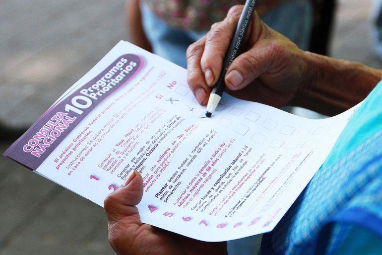 El 'sí' fue mayoría en segunda consulta de AMLO: Calderón Alzati