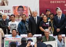 Decreto por Ayotzinapa; producto del trabajo entre padres y AMLO