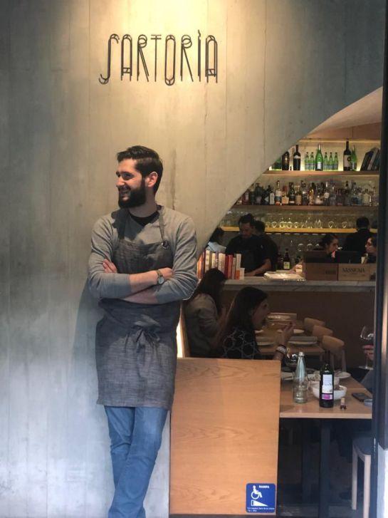 """Aprende a preparar pasta en """"Sartoria"""", con el chef, Marco Carboni"""