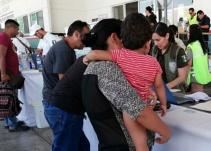 SRE: 'No se aceptarán a menores que viajen solos en caravana migrante'