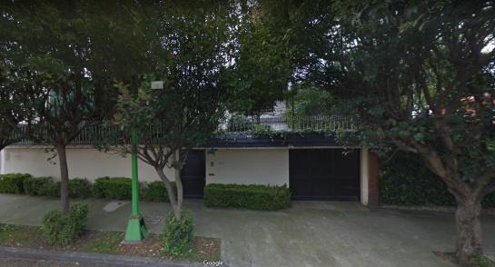 Casa de Manuel Bartlett en Sierra Vertientes 645