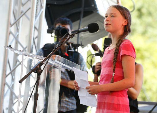 SOPITAS: Discurso de Greta Thunberg