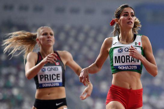 Paola Morán sigue dando esperanzas a México en el Mundial de Atletismo