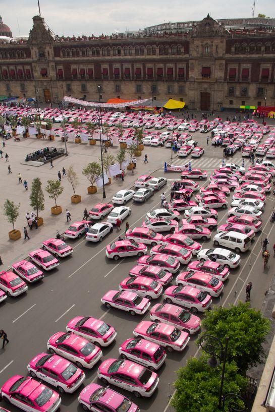 SOPITAS: El Movimiento Nacional de Taxistas se repetirá