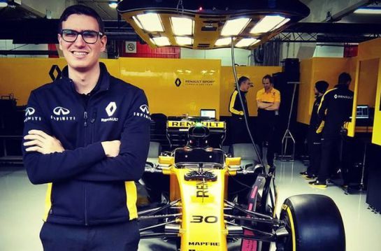 SOPITAS: El ingeniero mexicano Alexandros Paleologos en la F1