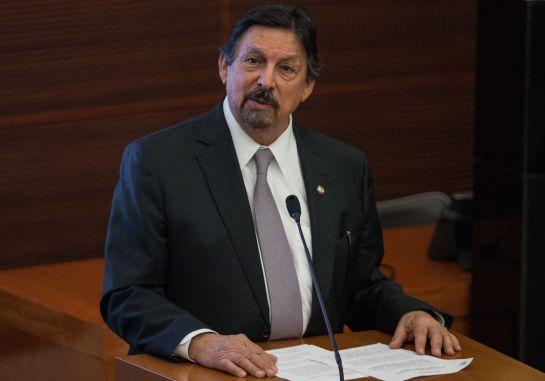 """""""Napito"""" recibió el sindicato minero como herencia y ahora es senador de Morena"""