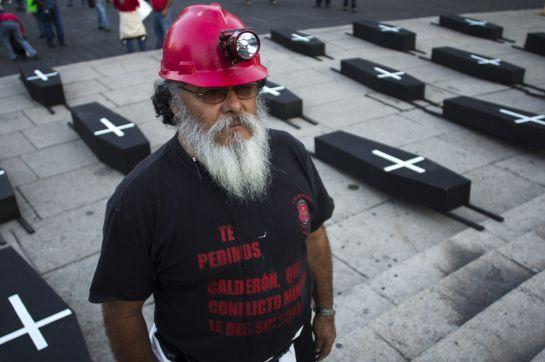 En el 2013 ecenas de mineros integrantes de la Asamblea Nacional del Sindicato Minero, realizaron una marcha luctuosa en conmemoración