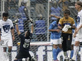 Vence Cruz Azul a Pumas 1-0 en cuartos de final de Concachampions