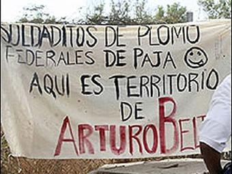 """Encuentran narco mensaje contra """"la Barbie"""" en Morelos"""