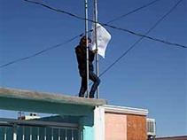 Protestan en Cd. Juárez con pañuelos blancos