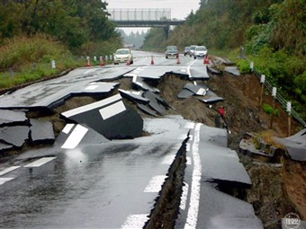 Sismo de una magnitud de 6.4 en el sur de Taiwán