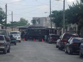 Balacera en cuartel de Tampico