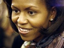 Michelle Obama concluye visita a Museo de Antropología