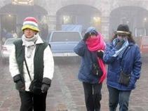 Anuncian bajas temperaturas durante esta semana