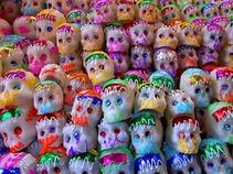Disfrutan miles de personas la X Feria de las Calacas