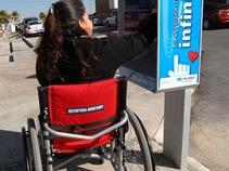 Instalan teléfonos públicos para personas discapacitadas en Coahuila