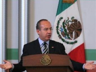 Va la economía en ruta correcta para su crecimiento: Calderón