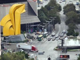 Se normaliza tráfico vehicular en Reforma y Centro Histórico