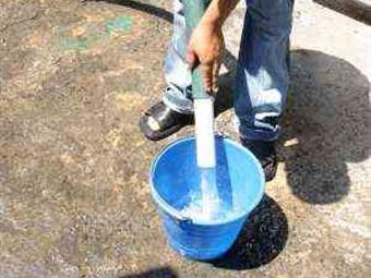 Reducirán 40% suministro de agua desde este jueves