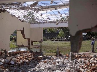 Habrá castigo para quienes destruyeron escuelas en Nueva Jerusalén