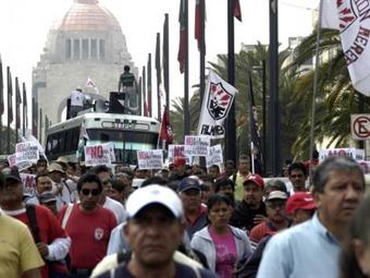 Alistan paro nacional para evitar aprobación definitiva de reforma laboral