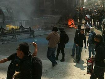 Definirán el domingo situación legal de detenidos por protestas del primero de diciembre