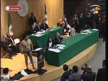 En folklórica sesión, diputados aprueban en lo general la Reforma Energética