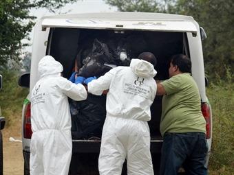 Hallan cabezas humanas en Michoacán
