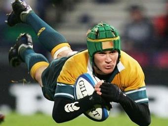 Australia se ensaña con Francia 50-23 en amistoso de rugby