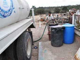 Afecta falta de agua en Durango a 25 mil personas