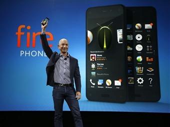Lanza Amozon el 'Fire Phone', su primer teléfono inteligente